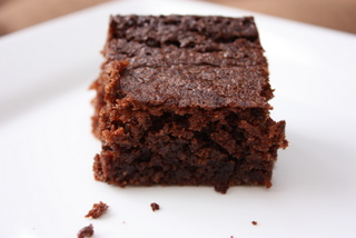 Chocolate coconut brownie