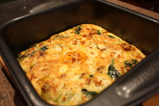 The baked frittata