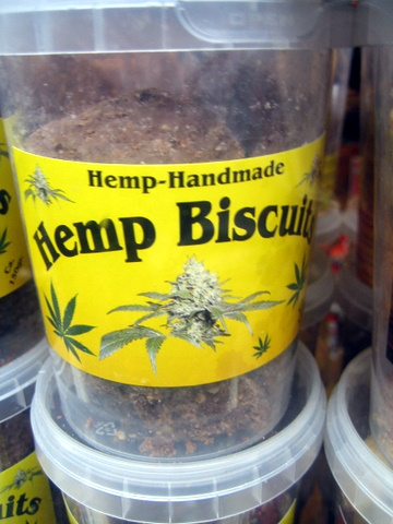 Hemp biscuits