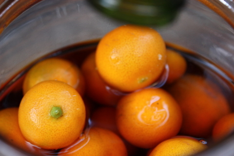 brandied cumquats
