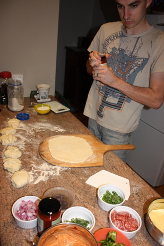 Place the dough on a well floured board